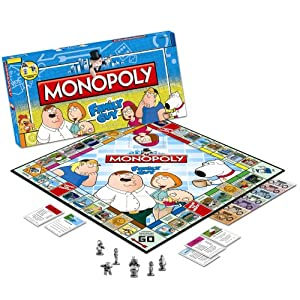 Family Guy games: Monopoly!