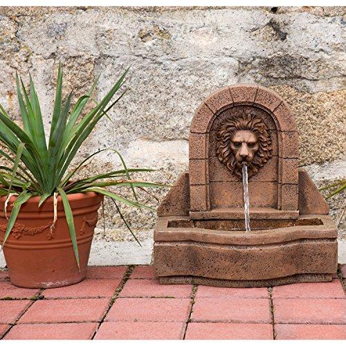 STILISTA® Gartenbrunnen, Löwenkopf*