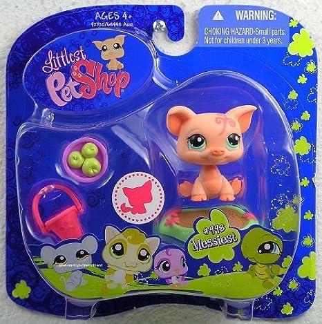 Littlest Pet Shop 2009 Assortment B Series 4 Collectible Figure Pig by Hasbro