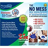 PlungeMAX PF0507 No Mess, Sanitary Toilet Plunger