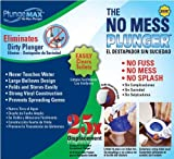 PlungeMAX PF0507 No Mess, Sanitary Toilet Plunger