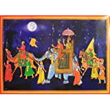 "Dolls Of India ""Royal Ride"" Reprint On Paper - Unframed (91.44 X 58.42 Centimeters)"