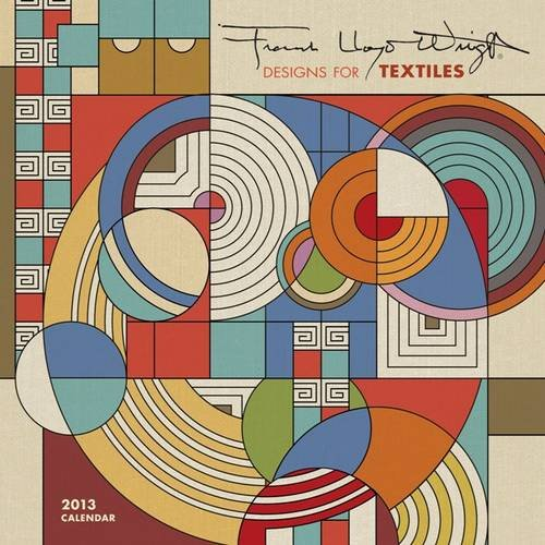 Frank Lloyd Wright Designs 2013 Mini Wall Calendar