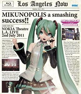 """【特製ポストカードセット付】MIKUNOPOLIS in LOS ANGELES """"はじめまして、初音ミクです"""" [Blu-ray]"""