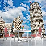 Leaning Tower of Pisa Wallpaper Mural