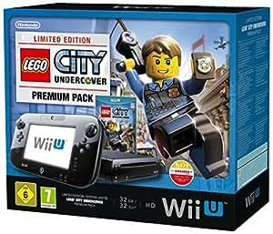 Console Nintendo Wii U 32 Go noire + Lego City : Undercover - édition limitée premium pack