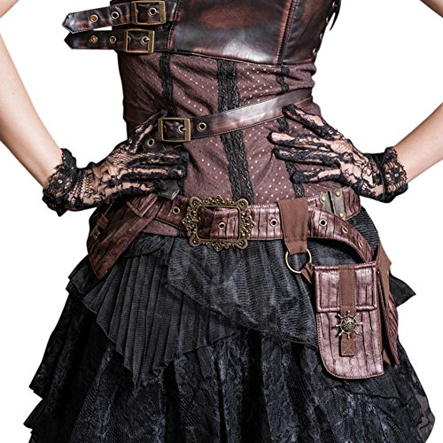 Steampunk Goth Mediterranean Rudder Ship Wheel Belt Satchel Back To School Bags