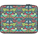 Snoogg DIAMOND FLORAL PATTERN 12 To 12.6 Inch Laptop Netbook Notebook Slipcase Sleeve