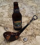 Vintage Golf Club Bottle Opener Made from an actual wood golf club head