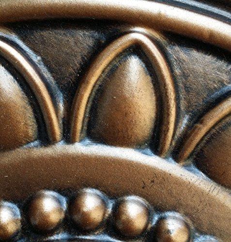 PL17en étain plafond 3D Panneaux muraux carrelage Motif café Pub Shop cuivre antique art décoration 10pieces/Lot