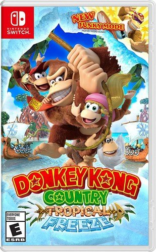 Buy Tropical Freeze Donkey Kong Country Now!