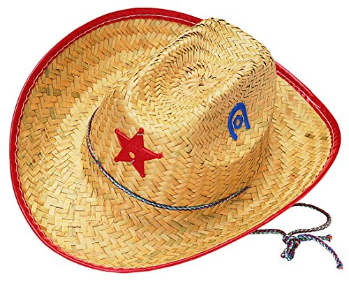 Rubies Child's Straw Cowboy Sheriff Hat