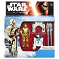 Star Wars The Force Awakens 375-inch Figure 2-pack Snow Mission R2-d2 And C-3po by Hasbro