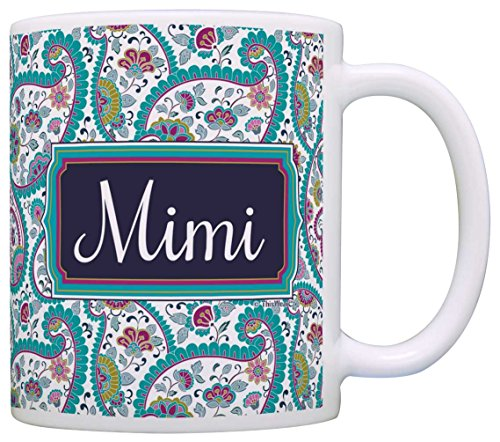 Mother's Day Gift for Mimi Birthday Gift Gift Coffee Mug Tea Cup Paisley (Paisley Coffee Mug compare prices)