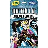 Crayola Metallic Disney Coloring Book & Markers-Frozen 12/Pkg