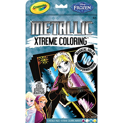 Crayola Frozen Xtreme Coloring Metallic Set - 1