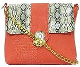 Stylocus Women's Sling Bag (Peach) (st_s_1404a)