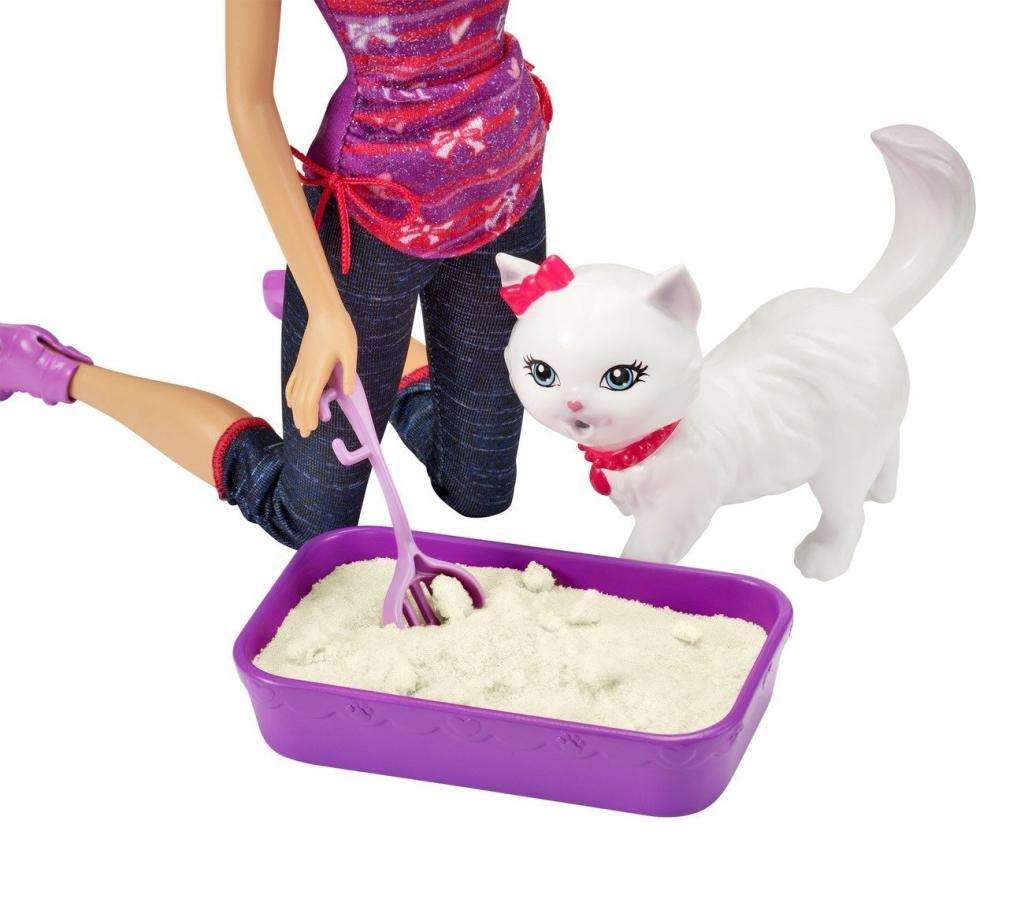 how to train puppy to use kitty litter