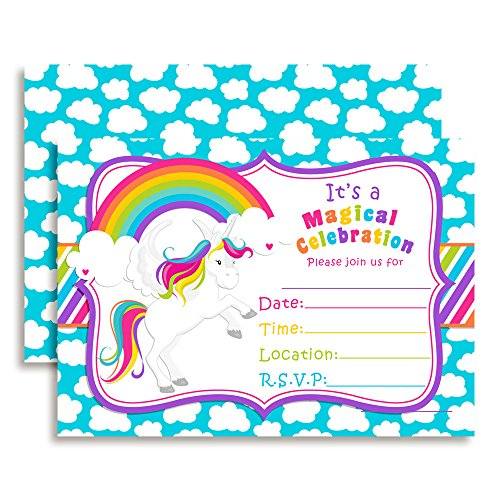 Rainbow-Unicorn-Fill-In-Birthday-Invitations