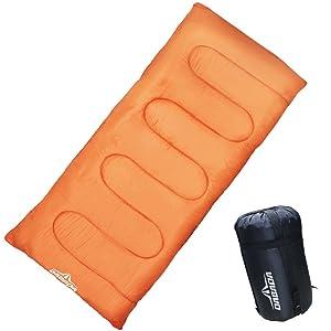 DABADA(ダバダ) 高級 寝袋 マミー型 シュラフ スリーピングバック [最低使用温度-5度]