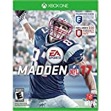 Xbox One 2 Sports Game: NFL 17 & FIFA 17 Play on Xbox One, Xbox One S, Xbox One X Project Scorpio Edition