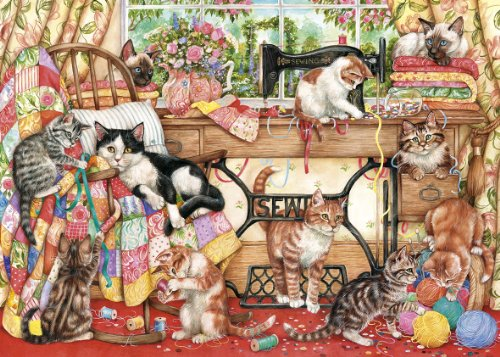 Details of gibsons a lost stitch 1000 piece puzzle