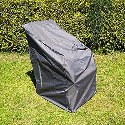 Relaxdays Schutzhülle für Stapelstühle & Gartenstühle