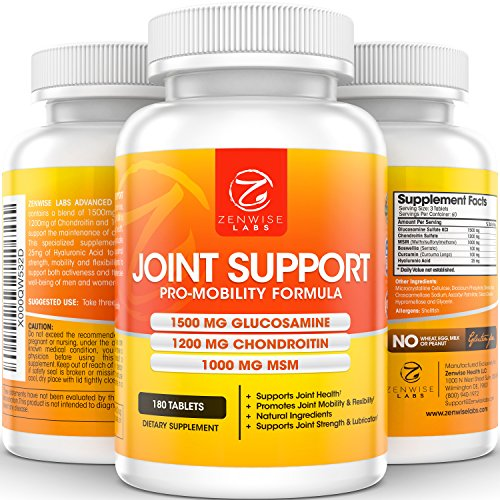 Joint-Support-Complex-of-1500mg-Glucosamine-1200mg-Chondroitin-1000mg-MSM-Hyaluronic-Acid-for-Advanced-Relief-Mobility-Health-Supplement-for-Pain-Aches-Soreness-Inflammation-180-tablets