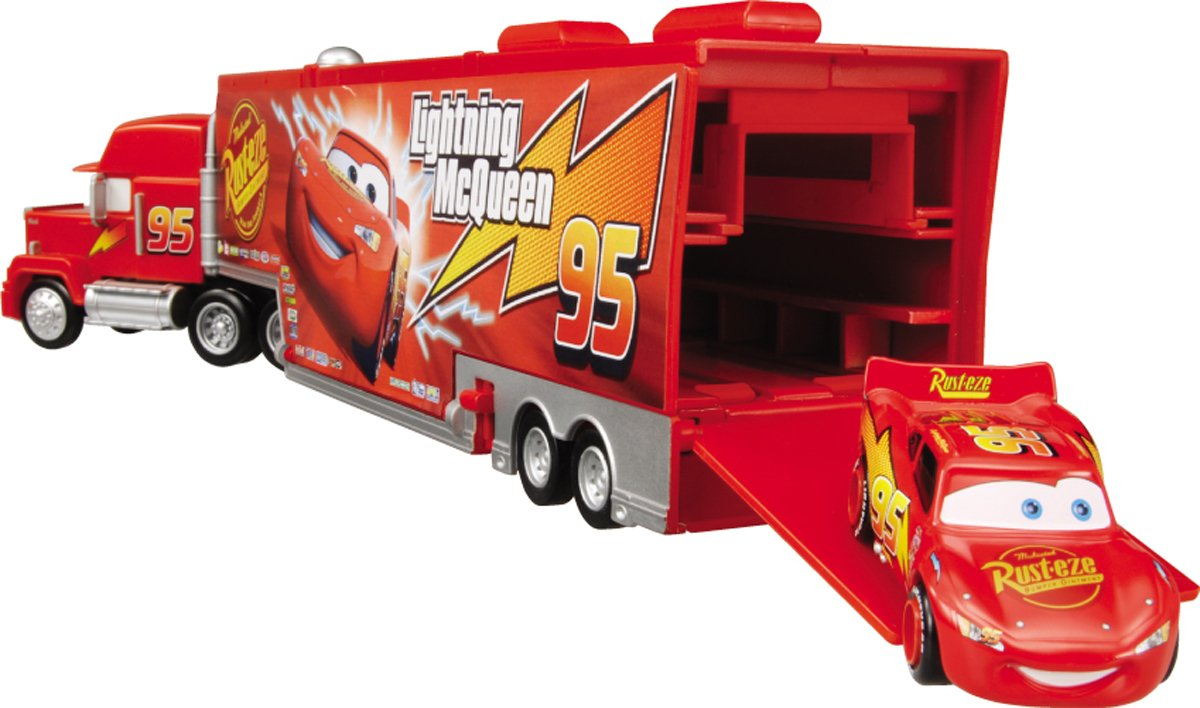 New disney pixar cars mack truck bachelor pad playset from japan ebay - Cars camion mack ...