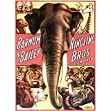 Vintage Reproduction Barnum Bailey Ringling Elephant Animal Circus Poster