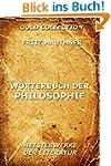 W�rterbuch der Philosophie: Vollst�nd...
