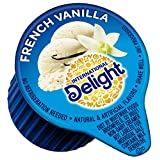 International Delight, French Vanilla Liquid Creamer, 288-Count Single-Serve Packages, Individual French Vanilla Flavored Coffee Creamer