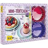 Mini-Törtchen-Set: Plus 12 Tartelette-Förmchen Ø 10 cm (aus Silikon) (GU Buch plus)