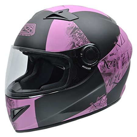 NZI 150196G678 Must II Victory Pink, Casque de Moto, Taille XS Multicolore