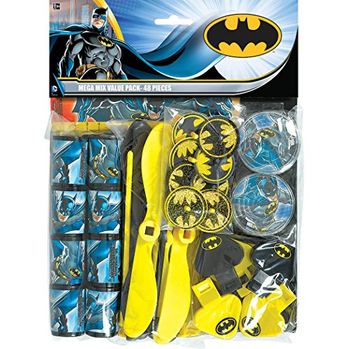 batman mega mix value pack favors at Gotham City Store