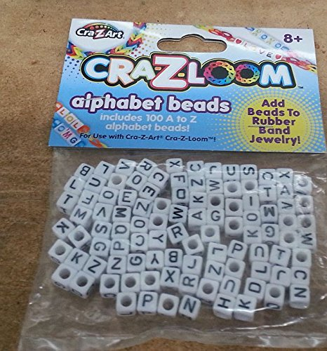 The Cra-z-art Cra-z-loom Alphabet Beads (100 Ct) - 1