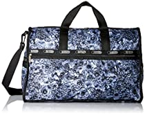 LeSportsac Large Weekender Bag, Adorn Grey, One Size