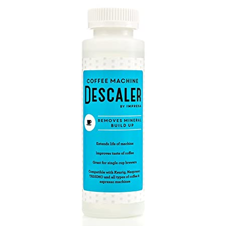 Descaler / Descaling Solution for Keurig, Nespresso, and Other Coffee/Espresso Machines - Made in USA at amazon
