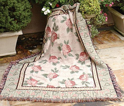 """""""Warm Embrace"""" Breast Cancer Awareness Tapestry Throw Blanket 50"""" X 60"""" front-983251"""