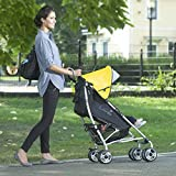 3D-Lite-Stroller-with-Travel-Changing-Station-Yellow