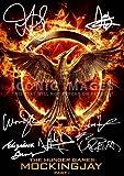 The Hunger Games (11.7 X 8.3) Movie Print Jennifer Lawrence Woody Harrelson Liam Hemsworth Elizabeth Banks Lenny Kravitz Josh Hutcherson Natalie Dormer