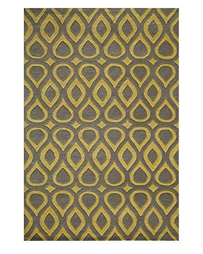 Momeni Delhi Collection Rug, Grey, 8' x 10'