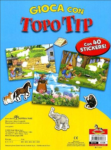 Libro gioca con topo tip con adesivi di for Topo tip giocattoli