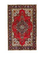 L'EDEN DEL TAPPETO Alfombra M.Tabriz Rojo/Multicolor 195 x 305 cm