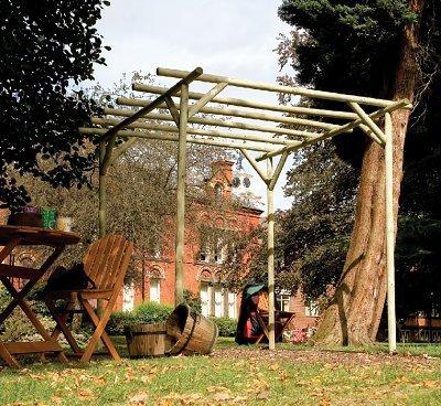 Grange Fencing Ltd Rustic Rose Pergola