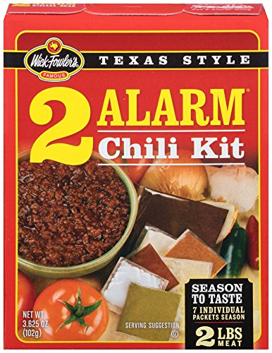 Wick Fowler's Products 2-Alarm Chili Kit, 3.625-Ounce Boxes (Pack of 12) (Chili Seasoning Kit compare prices)