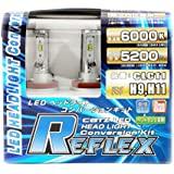 CATZ(キャズ)  REFLEX LEDヘッドライトコンバージョンバルブ H11/H9 6000ケルビン CLC11