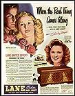 SHIRLEY TEMPLE ENDORSEMENT IN 1945 LANE CEDAR CHESTS AD Original Paper Ephemera Authentic Vintage Print Magazine Ad / Article