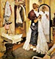 Norman Rockwell The Prom Dress 1949 Art Print - 8 in x 9 in - Unmatted, Unframed