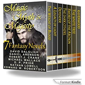 Magic, Myth & Majesty (7 Fantasy Novels) (English Edition)